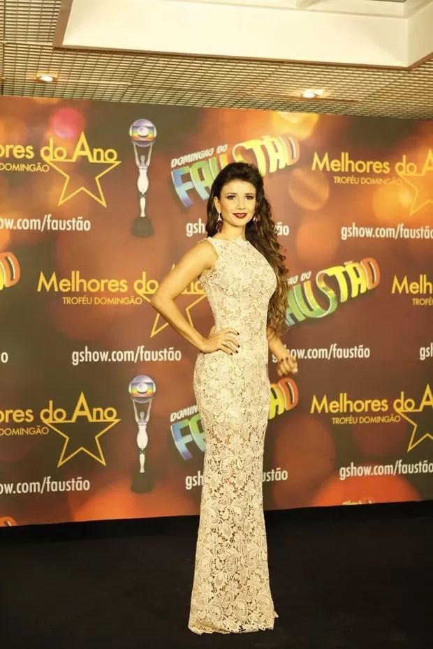 Paula Fernandes no Prêmio Melhores do Ano (Foto: Marcos Serra Lima / EGO)