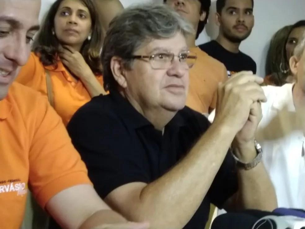 João Azevêdo (PSB) venceu em 209 das 223 cidades da Paraíba — Foto: Mayara Medeiros/CBN