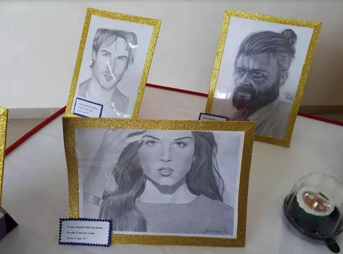 Janaira Silva realizou sonho de virar desenhista (Foto: Anny Barbosa/G1)