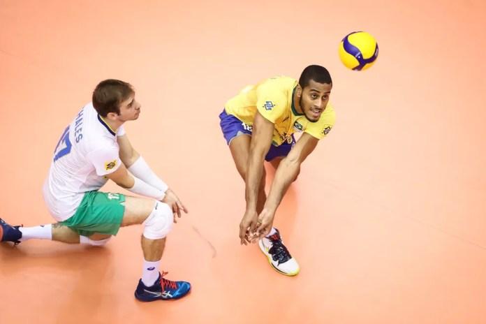 Lucarelli Copa do Mundo de vôlei contra o Japão — Foto: Divulgação/FIVB