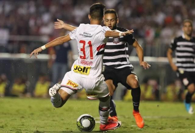 Luiz Araújo diz que ainda acredita na classificação, tanto na Copa do Brasil como no Paulistão (Foto: Rubens Chiri/saopaulofc.net)