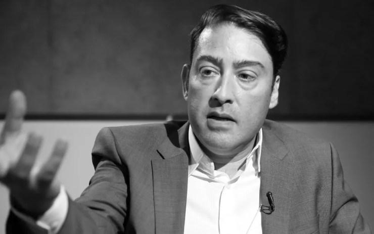 Luiz Pedrucci, presidente da Renault do Brasil, em entrevista ao G1 — Foto: G1