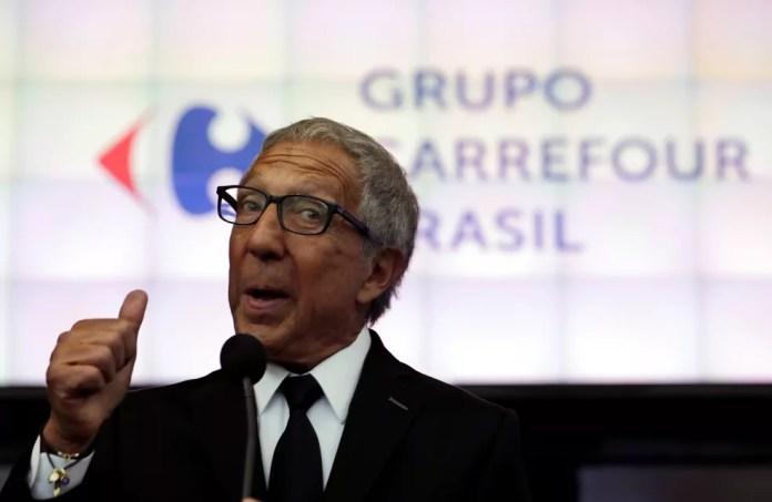 Imagem de arquivo do empresário Abílio Diniz (Foto: Reuters/Paulo Whitaker)