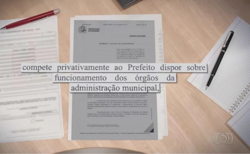 Prefeitua nega execução de lei que previa prazo para atedimento na rede pública de saúde (Foto: Reprodução/TV Anhanguera)