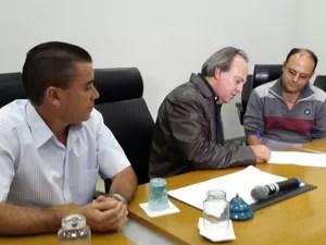 Miguel Júnior Presidente Câmara Municipal Araxá (Foto: Raphael Rios/G1)