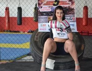 Kelly Cristina de Almeida, de 20 anos (Foto: Lauane Sena)