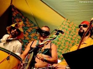 Tribo de Gonzaga no Carnaval de Petrópolis (Foto: Mariana Kreischer)