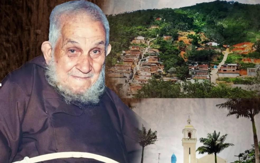 Frei Damião de Bozzano nasceu na Itália e morreu no Recife — Foto: Reprodução/WhatsApp