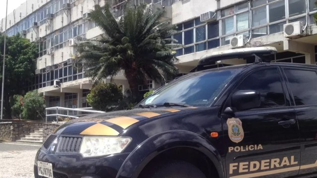Primeira fase da Operação Torrentes teve mandado cumprido na Vice-governadoria de Pernambuco, na Avenida Cruz Cabugá, no centro do Recife (Foto: Aldo Carneiro/Pernambuco Press)