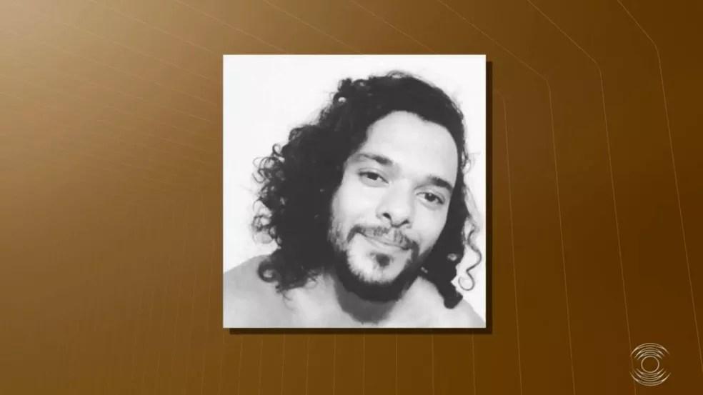 Morte do ator Simão Cunha no Centro Histórico de João Pessoa é tratada como latrocínio — Foto: Reprodução/TV Cabo Branco