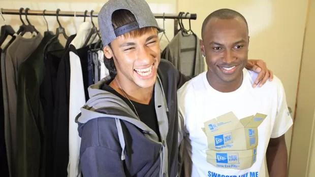 Neymar e thiaguinho (Foto: Divulgação / Fred Pontes)
