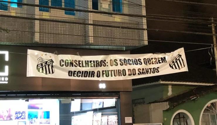 Santos Peres Impeachment — Foto: Gabriel dos Santos