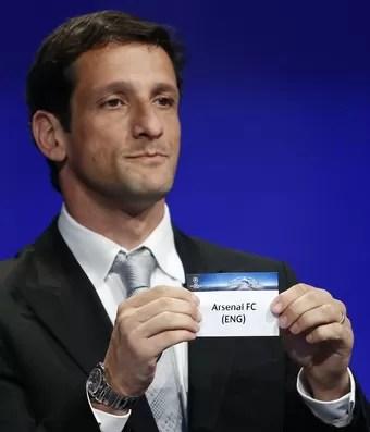 Belletti sorteio Uefa Liga dos Campeões (Foto: Getty Images)