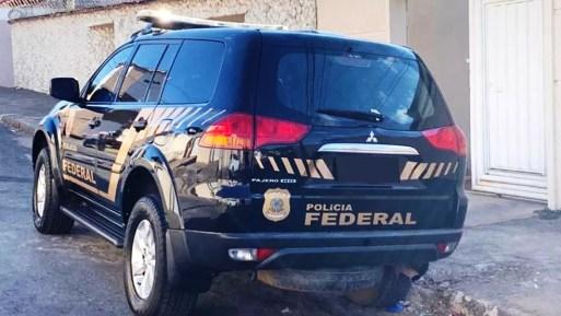 Carro da Polícia Federal em operação, em imagem de arquivo — Foto: Polícia Federal