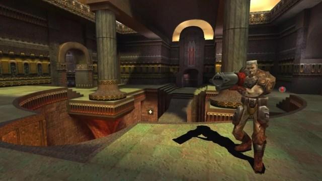 Captura de tela do jogo Quake III Arena (Foto: Divulgação)