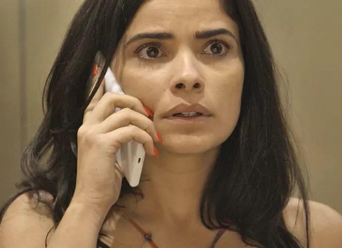 Tóia descobre que caiu em emboscada da facção (Foto: TV Globo)