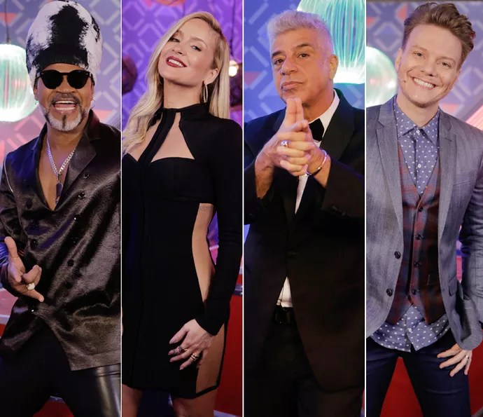 Técnicos do 'The Voice Brasil' (Foto: Artur Meninea/Gshow)