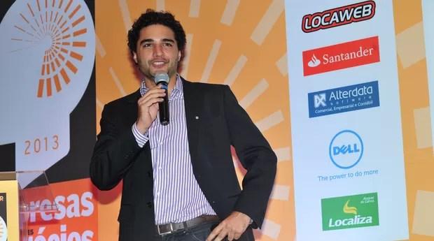 Romero Rodrigues, do Buscapé Company, foi o palestrante da noite (Foto: Deco Rodrigues)