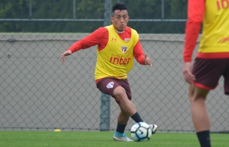 Cueva lidera assistências da temporada, com oito passes para gols (Foto: Érico Leonan/saopaulofc.net)