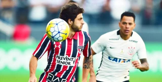 Corinthians x São Paulo, Arena Corinthians, Giovanni Augusto; hudson (Foto: Marcos Ribolli)