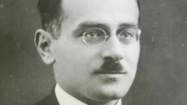 Ceslau Biezanko em foto de 1920; intelectual veio ao Brasil enviado pelo governo polonês — Foto: Rhuan Trindade/Acervo de Edmundo Gardolinski