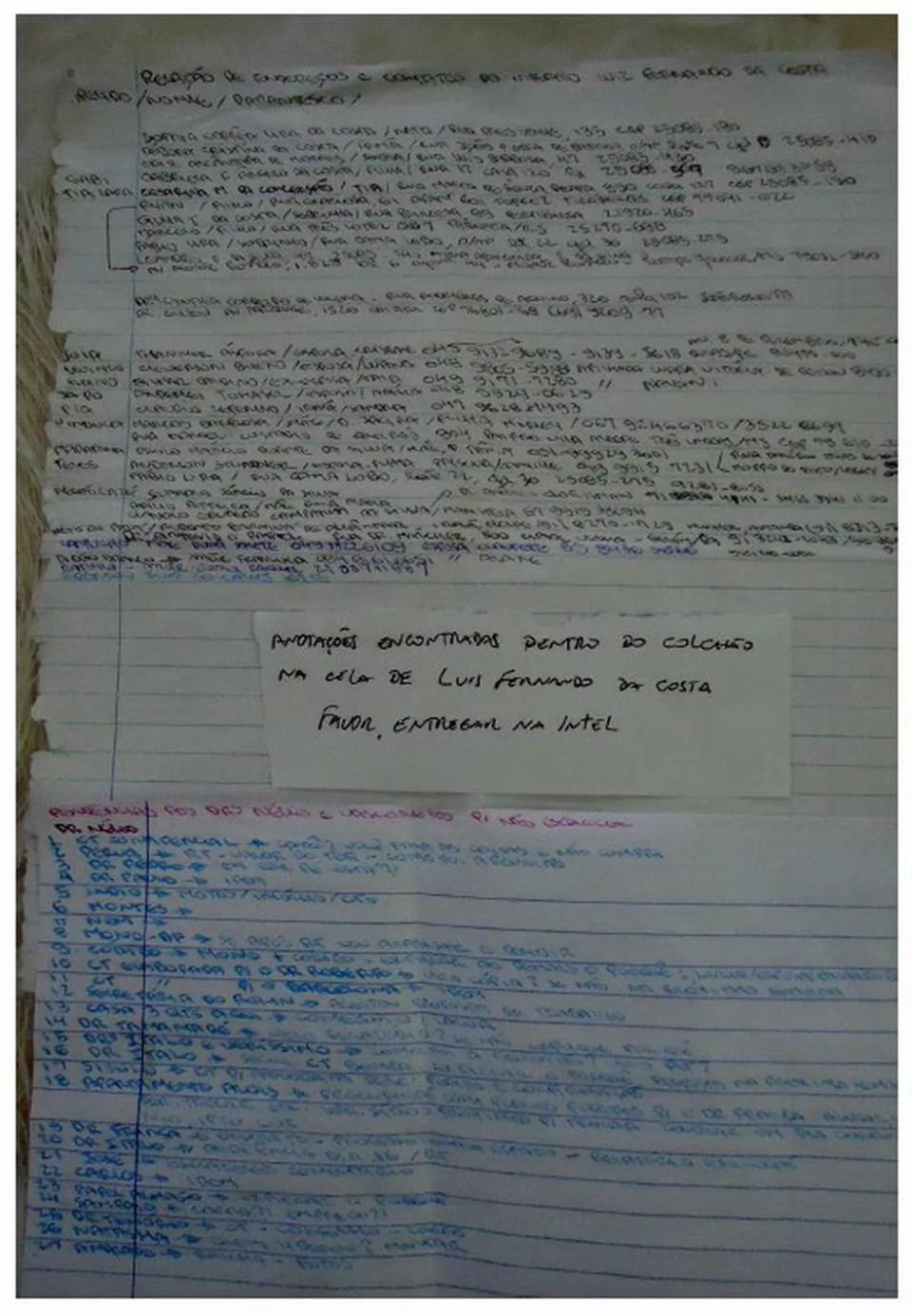 Principal meio de comunicação de Beira-Mar é por intermédio de bilhetes (Foto: Reprodução)