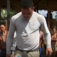 Caldeirão do Huck 12/07/2014 - Huck leva Ronaldo a tribo índigena que não conhece futebol e nem a Copa