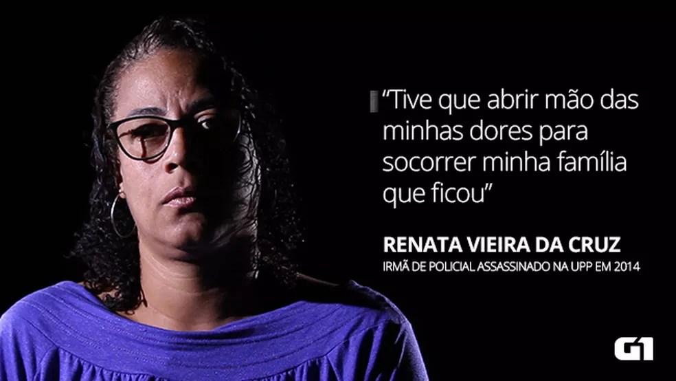 mteria personagem texto renata - VÍTIMAS OCULTAS: homicídios impactam a vida de até 800 pessoas por dia no Brasil