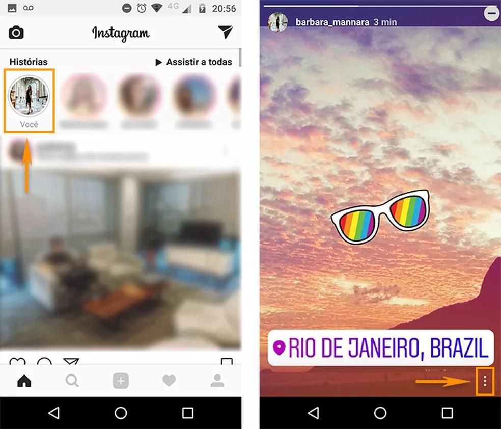 instagram01 Truques para dominar seus Stories postados no Instagram pelo Android