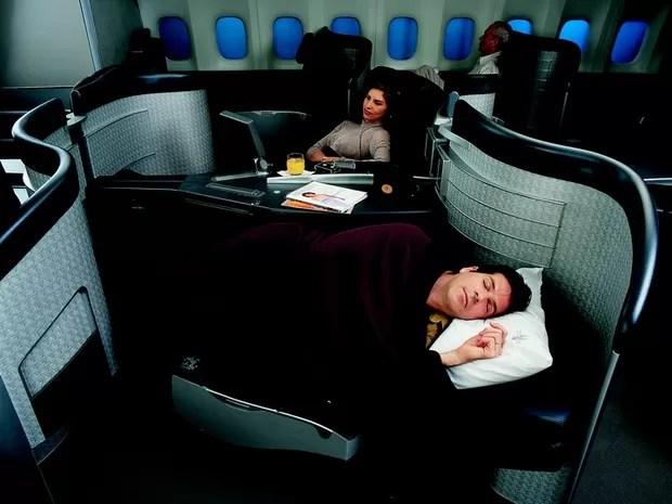 Primeira classe da American Airlines  (Foto: Divulgação)
