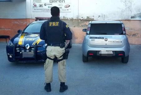 Fiscalização foi realizada Polícia Rodoviária Federal na quarta-feira (6) na BR-104 (Foto: PRF/Divulgação)