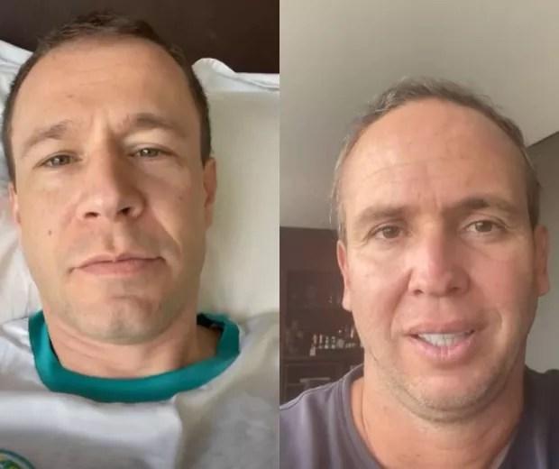 Tiago Leifert about Caio Ribeiro, undergoing cancer treatment (Photo: Reproduction/Instagram)