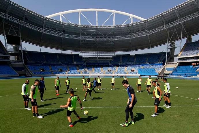 Engenhão, Botafogo (Foto: Vitor Silva/SSPress/Botafogo)