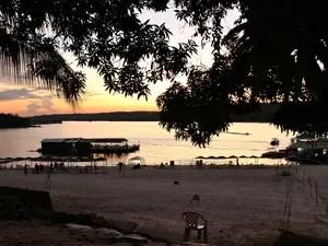 Belezas naturais agradam os frequentadores dos balneários de Manaus (Foto: Leandro Tapajós/G1 AM)