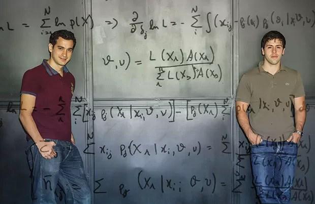 Felipe Mattos (à esq.) e Murilo Andrade, da Studiare;Empreendedorismo;Educação;Studiare;Kroton (Foto: Leonardo Wen/Estúdio Lunes)
