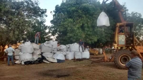 Funcionário de fazenda descobriu que material furtado estava em Auriflama e denunciou o crime para a polícia (Foto: Polícia Militar/Divulgação)