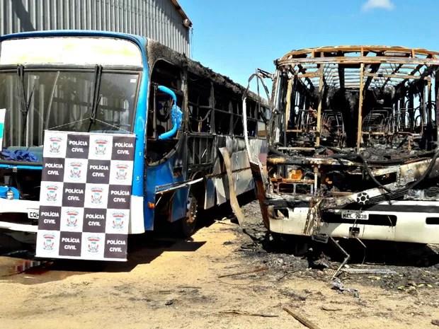 No dia 12 de maio, o bando voltou a atear fogo em veículos em Itiquira (Foto: Divultação/Polícia Civil de MT)
