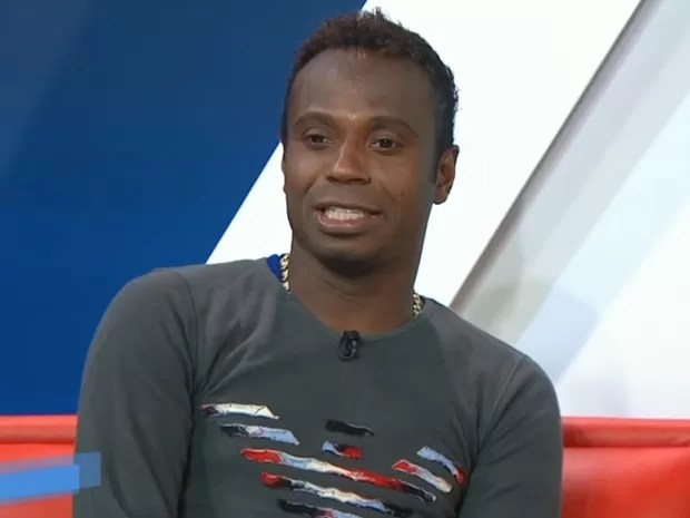Ex-jogador da seleção brasileira Edilson Capetinha (Foto: SporTV/Reprodução)