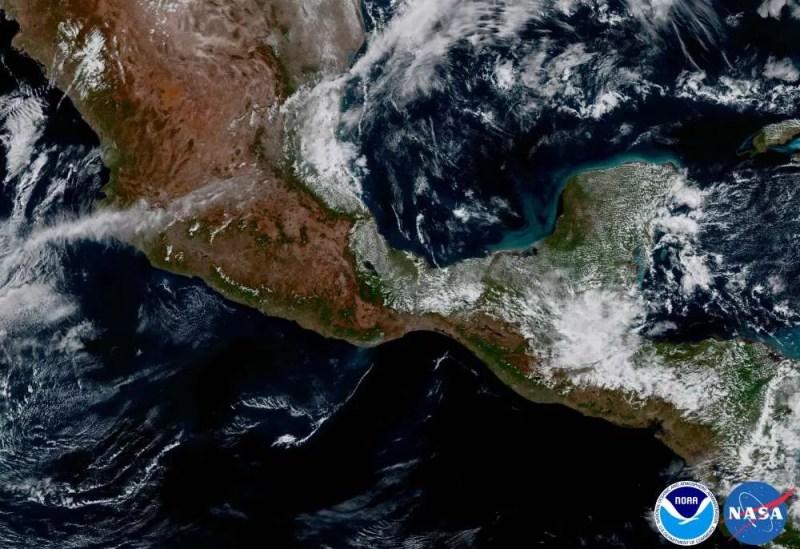 América Central (FOTO: NASA/ NOAA)
