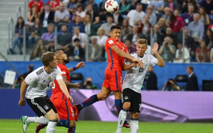 Chile x Alemanha fazem final da Copa das Confederações (Foto: Kai Pfaffenbach/Reuters)
