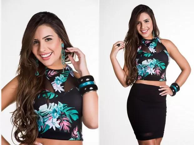 MISS AMAZONAS - Caroline Toledo (Foto: Lucas Ismael/Band/Divulgação)