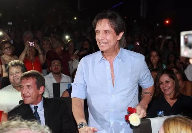 Roberto Carlos (Foto: Celso Tavares / EGO)