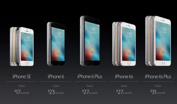 iPhone SE será a opção mais barata em relação aos modelos maiores (Foto: Reprodução/Elson de Souza)