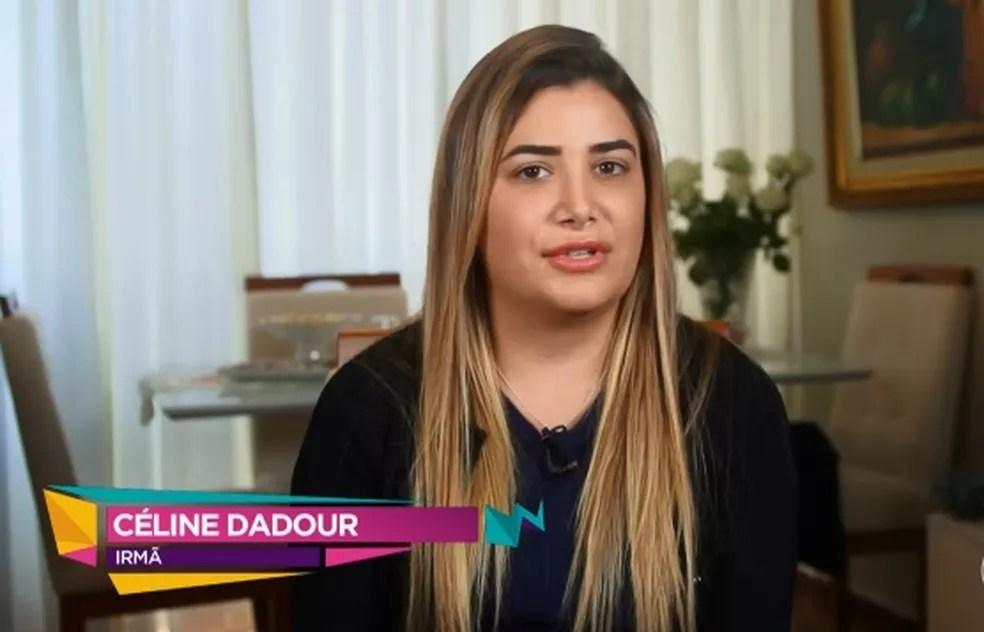 Irmã do sírio agradeceu pela família estar junta de novo — Foto: Reprodução/TV Globo