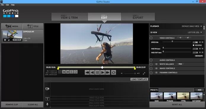 GoPro Studio também tem uma série de opções de edição (Foto: Reprodução/Aline Jesus) (Foto: GoPro Studio também tem uma série de opções de edição (Foto: Reprodução/Aline Jesus))