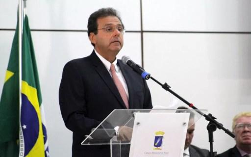 Carlos Eduardo (PDT), prefeito de Natal, foi denunciado pelo Procurador-Geral de Justiça. (Foto: Fabiano de Oliveira/G1)
