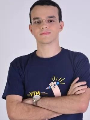 Felipe atingiu nota máxima em redação no Enem (Foto: Arquivo pessoal)