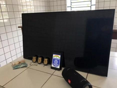 Material foi apreendido durante operação em Maceió e Rio Largo — Foto: Divulgação/SSP