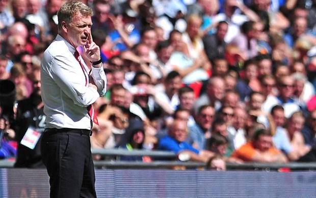 Moyes Manchester United e Wigan (Foto: Agência AFP)