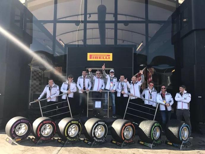 Pneus Pirelli para 2017 (Foto: Divulgação)
